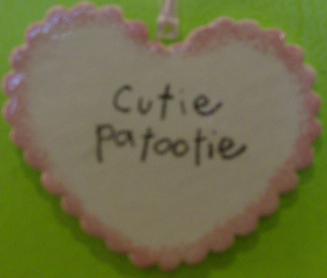 Cutie patootie heart By: BeckieLee Couture