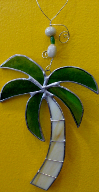 Palm Tree ornament By: Clara Foshee