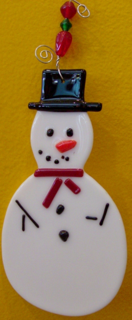 Snow Man Ornament By: Clara Foshee