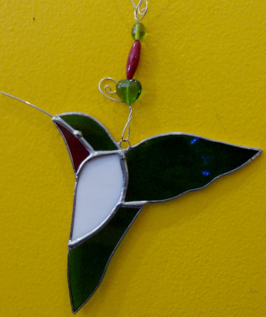Humming Bird ornament By: Clara Foshee