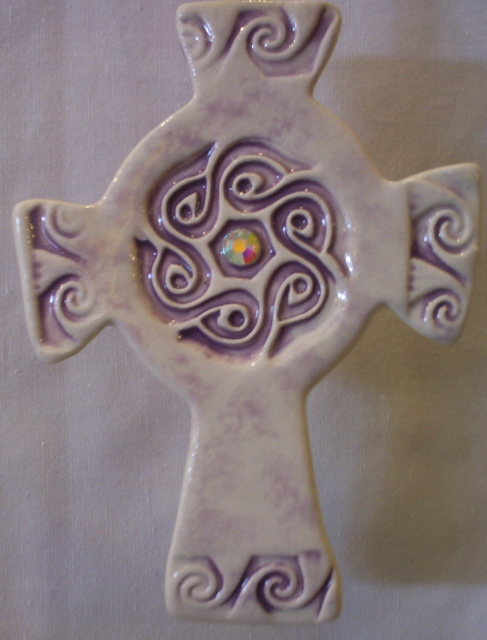 Celtic ornament cross By: BeckieLee couture