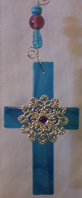 Stained glass crosses By: Clara Foshee