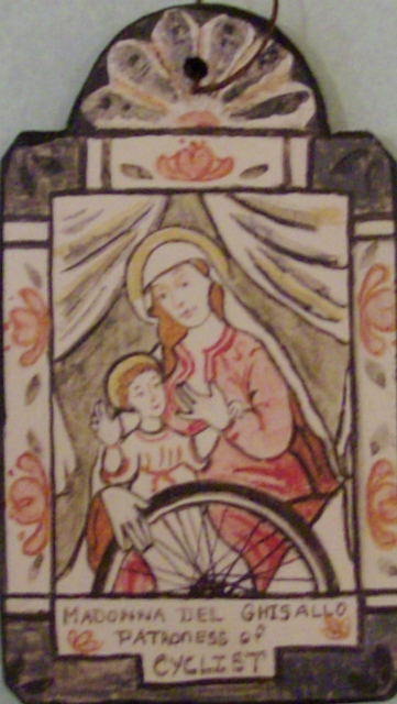 Madonna Del Ghisallo ornament By: Lynn Garlick