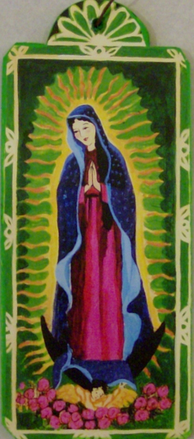 Our Lady of Guadalupe ornament By: Lynn Garlick