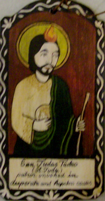 San Judas Tadeo ornament By: Lynn Garlick