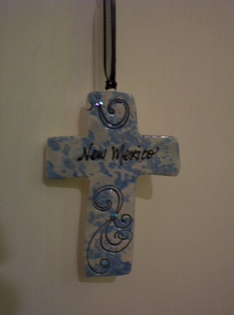 Ornament Cross By: BeckieLee Couture