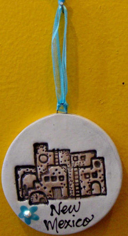 Pueblo Ornament By: BeckiLee Couture
